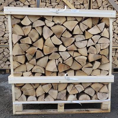 kiln dried hardwood firewood 1m3 pallet